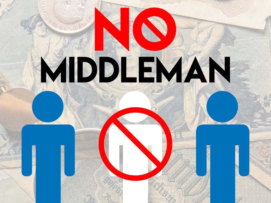 no middleman